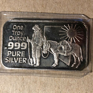 Nevada-The-Silver-State-1-Oz-999-Silver-Art-Bar