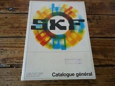 CATALOGUE ROULEMENTS A BILLES - USINE SKF - REPARATION AUTOMOBILE MOTEUR - 1970