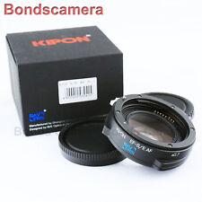 Kipon Baveyes Auto Focus 0.7x Reducer Adapter Canon EOS Lens to Sony NEX E A6000
