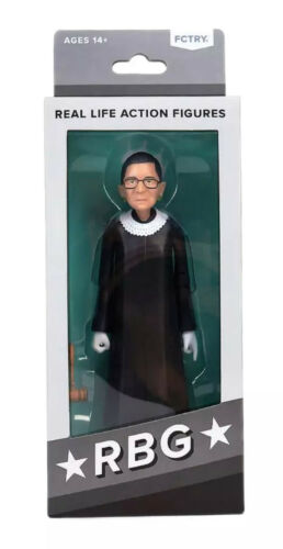 NOTORIOUS RBG Ruth Bader Ginsburg Supreme Court Justice Action Figure Doll