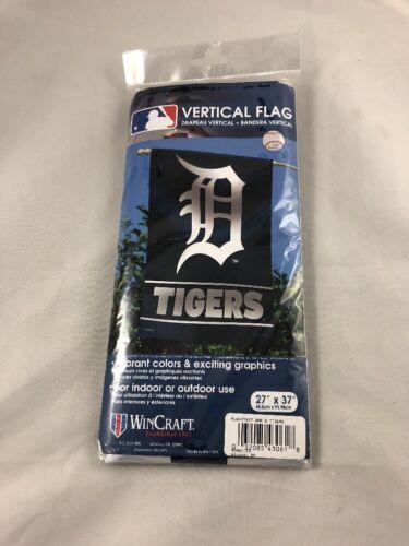 "Detroit Tigers Vertical Flag MLB Licensed Baseball Banner 27/"" x 37/"""