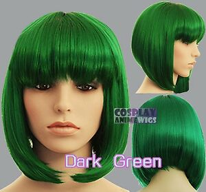 30cm-Green-Heat-Styleable-Chic-Bob-short-Cosplay-Wigs-91-011