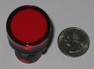 SBOEC-AD16-Red-Industrial-Pilot-LED-Lamp-12-V-AC-DC-22mm-Mount-22DS-Short