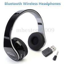Wireless Bluetooth Foldable Headset Stereo Headphone Earphone For Sony PS4 PC