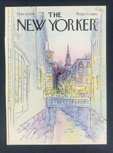 COVER-ONLY-The-New-Yorker-Magazine-December-6-1976-Arthur-Getz