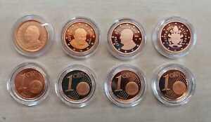 Vatican 1 Cent Pp / Proof (Choisissez Entre : 2002 Jusqu'À 2020)