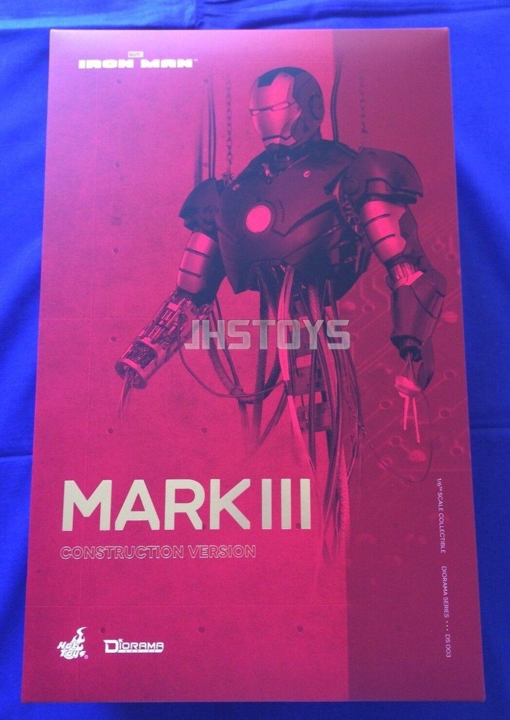 Hot Juguetes 1 6 Iron Man Mark 3 MK III construcción versión Diorama DS003