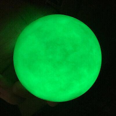200g Φ50mm H67mm Blue Luminous Glow Man-made In The Dark Stone Egg China LAND05