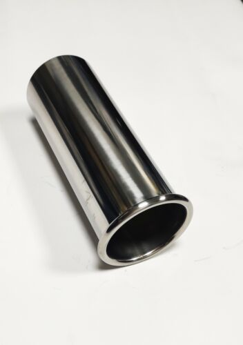 Exhaust /'Rolled Out/' Tail Pipe Stainless Steel /'Out Verted Tips/'