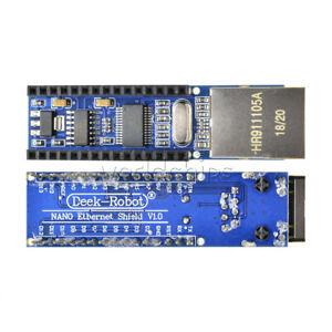 2Pcs-Mini-ENC28J60-Serveur-Module-Ethernet-Shield-Board-pour-Arduino-Nano-V3-0