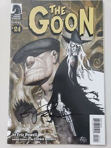 THE-GOON-24-2008-DARK-HORSE-COMICS-AUTOGRAPHED-by-ERIC-POWELL-with-COA