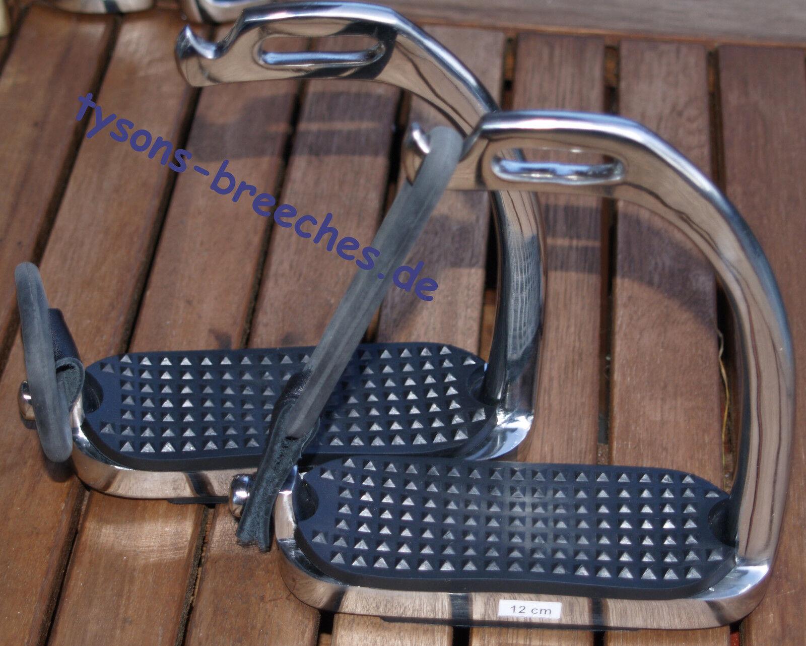 Sicherheitssteigbügel Gummi Steigbügel Rostfrei 12 cm Schlupfbügel Gummibügel