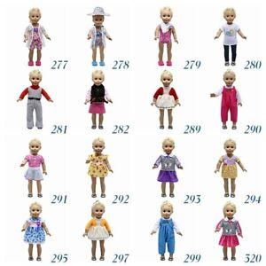 "Fits 18/""  Girl  Doll  Handmade fashion Doll Clothes dress"
