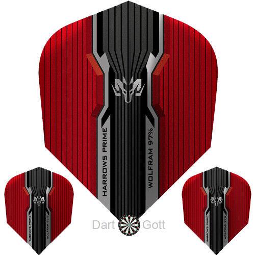 100 Mikron Flight Standard Dartflight HARROWS Prime Dart Flights