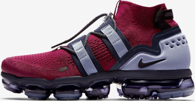 more photos 40fd5 977ee Nike Air Vapormax Utility Team Red Blue size 9. AH6834-600. moc flyknit 2