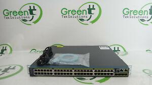 Cisco-2960-S-Series-WS-C2960S-48FPS-L-48-Port-Gigabit-Ethernet-PoE-Switch