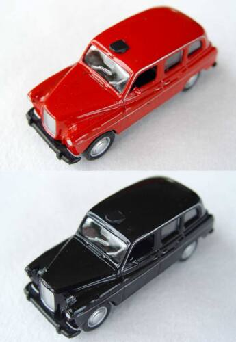Welly Modellauto Spritzguss-Autos mit Rückzugmotor 1:60 Austin FX4 London Taxi