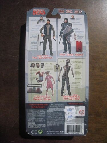 SEALED NEW MOC WALKING DEAD Skybound Image McFarlane Series 2 Riot Gear Glenn