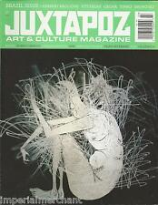 Juxtapoz magazine Brazil issue Herbert Baglione Titi Freak Calma Tinho Bruno 9LI