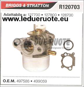499059 Cocheburador a Tanque Briggs & Stratton 121K00 128800
