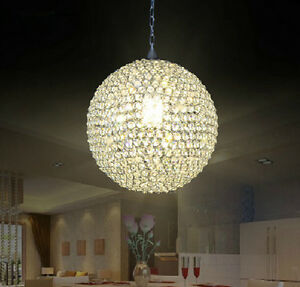 Groovy Details About New Modern Crystal Ball Round Rendant Lamp Bar Ceiling Lighting Bedroom Kitchen Download Free Architecture Designs Barepgrimeyleaguecom