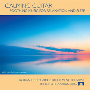 Calming-Guitar-CD-Music-with-Ocean-Waves-For-Relaxation-amp-Sleep-NEW
