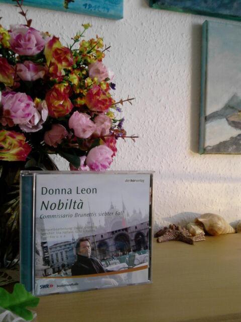Nobilta von Donna Leon (Hörbuch, 2003, neuwertig)
