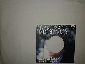 Francesco-Napolitano-Ancora-Un-Bacio-Copertina-Forata-Per-Disco-Vinile-45-Giri