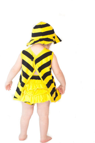 3-6 Months Ruffle Pants Noo Summer 3 Piece Outfit Bee Swing Top Hat