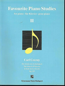 Favourite-Piano-Studies-for-Piano-Band-2-C-Czerny-Schule-der-Gelaeufigkeit