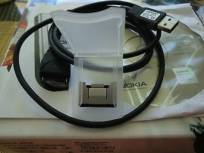 Zubehörpaket, Nokia 6670,leere OVP,passendes PC Kabel,Halterung Speicherkarte,CD