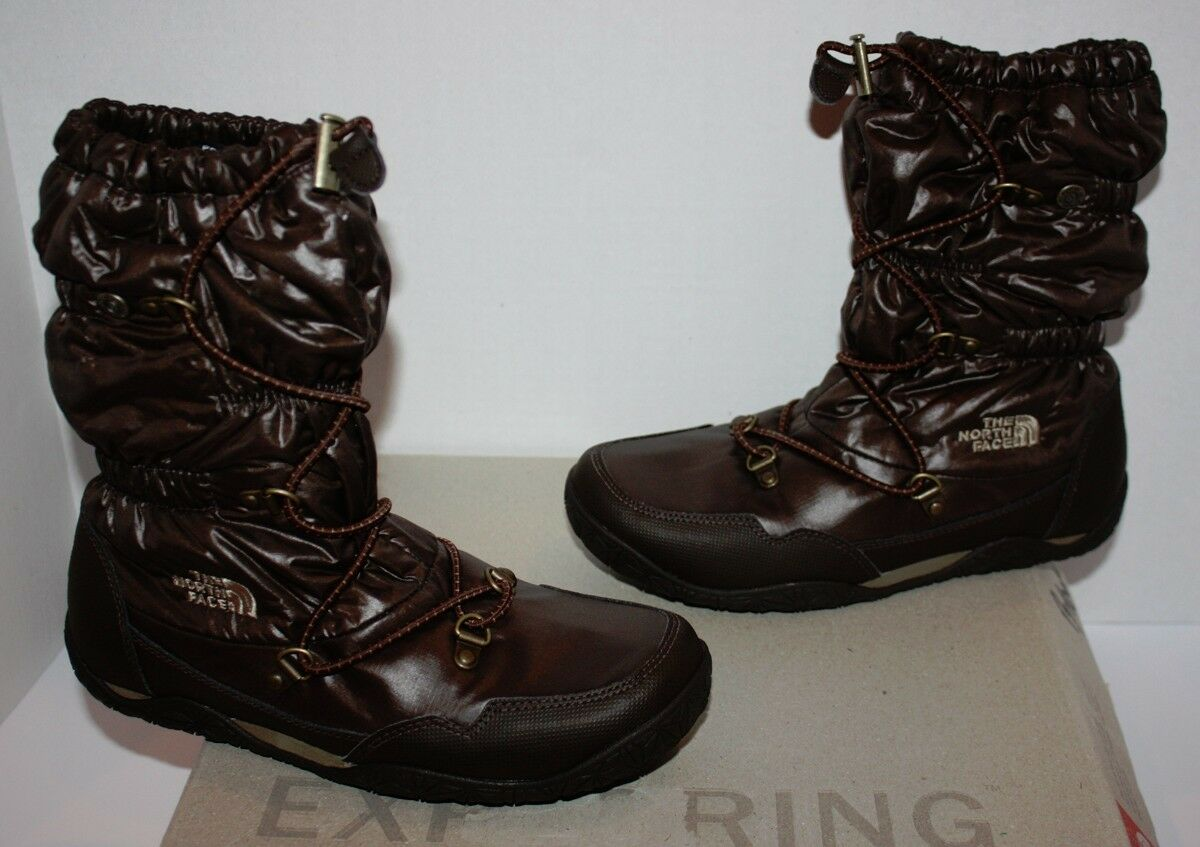 NIB Women's The North Face Ice Queen Brown Boots Size 5.5