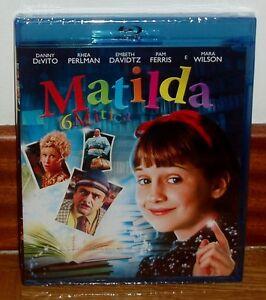 Matilda-Blu-Ray-New-Sealed-Comedy-Danny-Devito-Spanish-Sleeveless-Open-R2