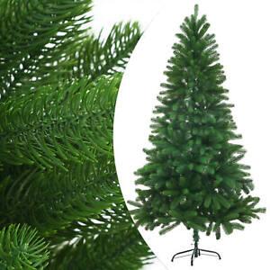 vidaXL-Albero-di-Natale-Artificiale-Palline-e-LED-Verde-Feste-150-180-210-cm