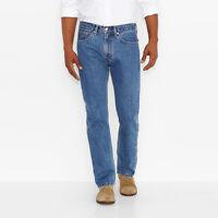 Levi's 505 Jean - Straight Fit - Medium Stonewash - Big & Tall