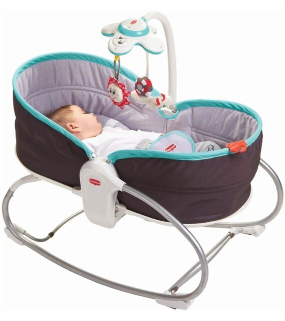 Tiny Love 3-in-1 Rocker Napper - Turquoise - New! Free Shipping!