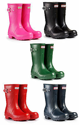 Hunter Original Short Womens Wellingtons Boots UK3-8