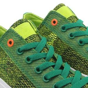 aa96ee6a7c5c7 Details about NIB $105 Converse CTAS II Ox Amazon Green/Bold Lime/White  154862C US Mens 9.5