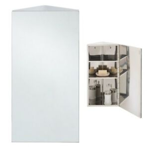 Prime Details About Rak Luxury Modern Stainless Steel Chrome Bathroom Mirror Storage Cabinet Shelves Interior Design Ideas Ghosoteloinfo
