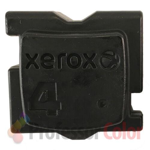 BLACK 4 PACK GENUINE XEROX ColorQube 8570//8580 INK 108R00929-108R00930