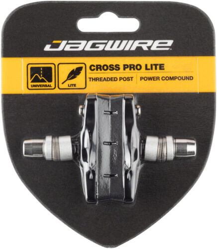 Jagwire Cross Pro Brake Pads Threaded Post Black