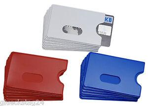 6x-EC-Kartenhuelle-Weiss-Blau-Rot-STABIL-Scheckkartenhuelle-Kreditkartenbox-Bank