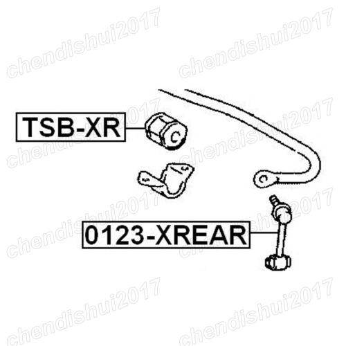 Rear Stabilizer Sway Bar//Stabilizer Link LH+RH For Lexus IS250 GS300 48830-30090