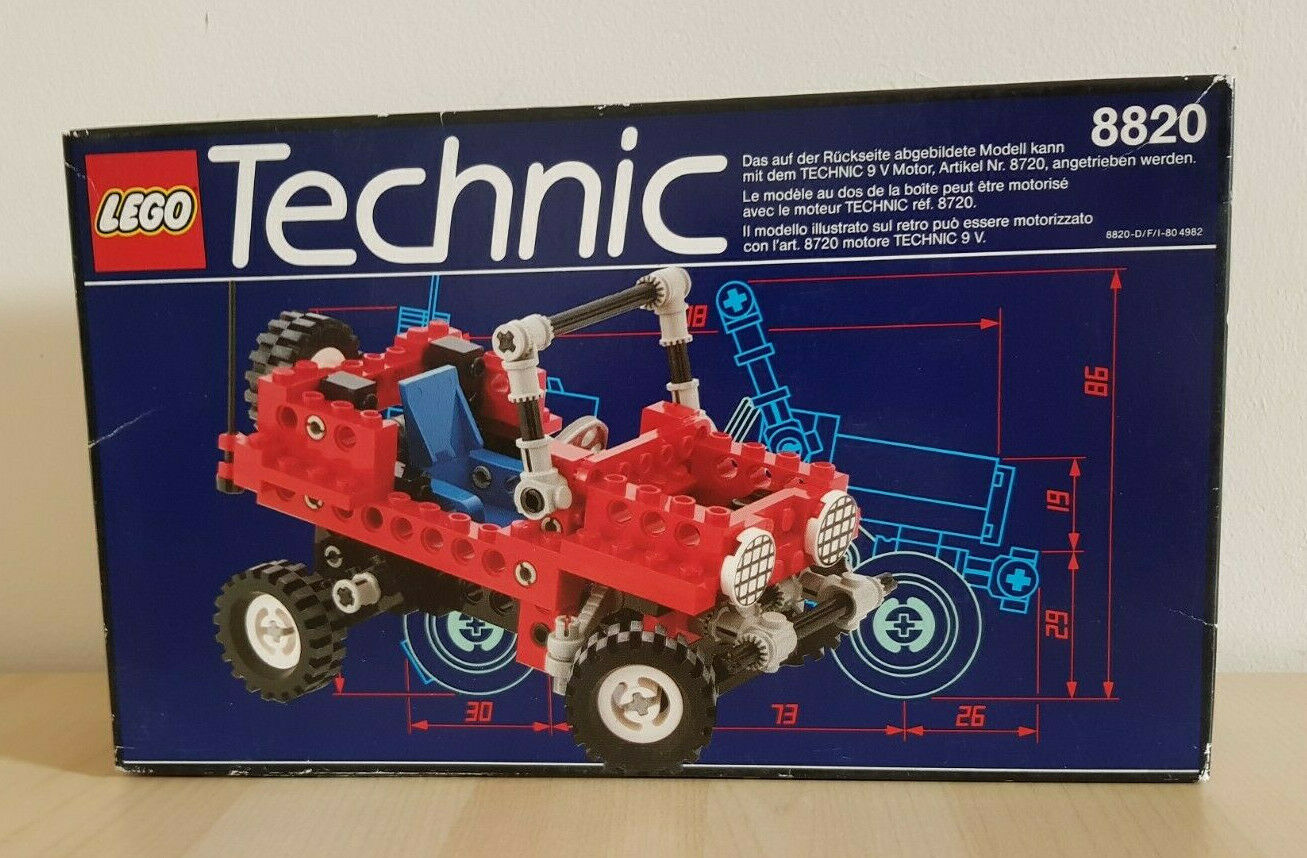 ✪ NEW LEGO TECHNIC 8820 VINTAGE COLLECTIBLE (1991)