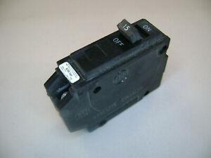 GE Type R 1 Pole 15A 15 Amp R115 Circuit Breaker