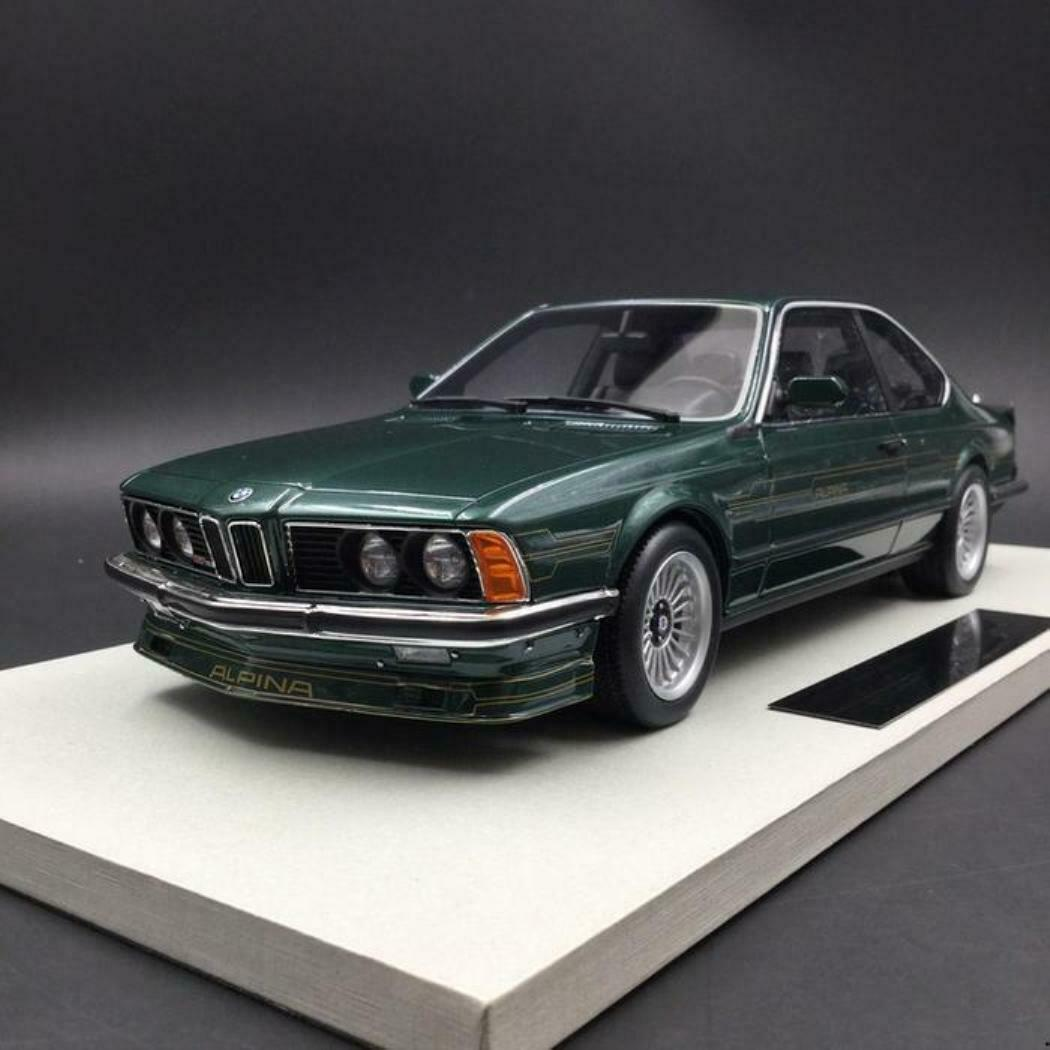 Todo en alta calidad y bajo precio. BMW ALPINA B7 S TURBO COUPE E24 1985 verde verde verde SERIE 6 LS-COLLECTIBLES LS029B 1 18  a precios asequibles