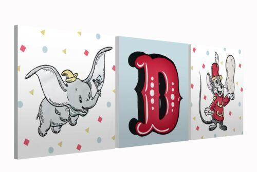- Unisex Bedroom Lamp Canvas Prints Clock Lampshade DUMBO 517
