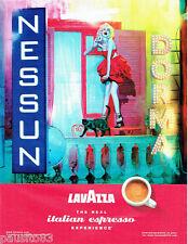 PUBLICITE ADVERTISING 056  2010  le café Lavazza  esspresso