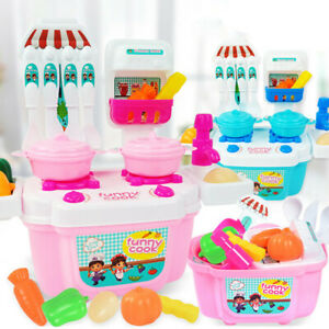 1-Set-22PCS-Kids-Toy-Role-Play-Mini-Simulation-Kitchenware-Pretend-Cook-Set-Toy