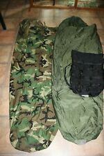 MILITARY ISSUE ARMY ACU CAMO GORETEX BIVY COVER FOR MSS SLEEPING SYSTEM-W//BONUS